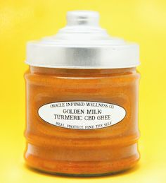 Golden Milk:  Turmeric Ghee Paste with CBD