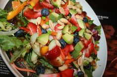 Berry Berry Heavenly Salad for lunch!