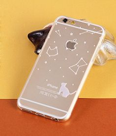IPhone 6 Case,ISAKO® Moon & Cat & Apple IPhone 6 4.7 Inch Case [Scratch-Resistant] [Perfect Fit] Lovely TPU Soft protective Slim skin Case Cover (White 03 Cat & Constellation) ISAKO http://www.amazon.com/dp/B00RVI1WBK/ref=cm_sw_r_pi_dp_BA8Bvb0P52767