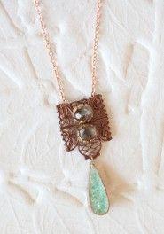 adriatic sea indie necklace