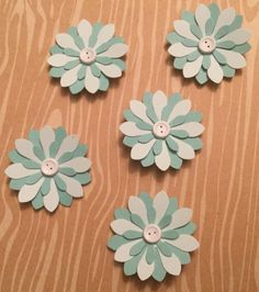 Handmade small paper flowers 5 pack flowers etsy and origami expiring soon get them while you can handmade small paper flowers 5 pack mightylinksfo