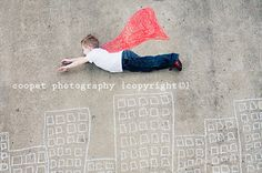 child photography - coopet photography - chalk it up - boy