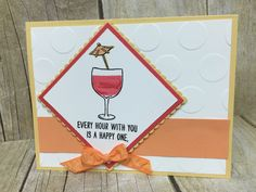 Stampin' Up! Mixed Drinks by Amanda Waldhart