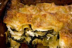 Winter Greens Lasagna Recipe