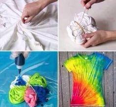 Dıy t-shirt