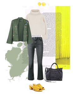 """Untitled #53"" by teaangelika on Polyvore featuring Frame, Sam Edelman, Ray-Ban, Elaidi and Balenciaga"