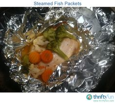 Do you want an easy, almost no prep dinner?  Do you want something healthy, yet still actually tastes good?  This begins with an inexpensive frozen tilapia filet.  After adding a few simple ingredients, simply wrap it up and let it steam away in your oven.