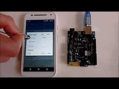 Arduino 101 and Visuino: Control LED from Smartphone with Bluetooth LE #Arduino #Visuino #Curie