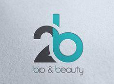 Corporate Identity // // Bio & Beauty on Behance logo design 2 Logo, Typography Logo, Logo Branding, Lettering, Logo Inspiration, Creative Logo, Creative Business, Logo Academia, Logo Monogramme