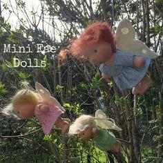 Pflanzenfaerberin*Mini Elfchen Puppen