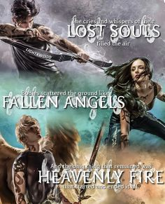 Lost Souls, Fallen Angels and Heavenly Fire illustrations