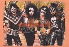 Early Days drawing of KISS Kiss Members, Kiss Art, Limited Edition Prints, Rock And Roll, Illustrators, Drawings, Artist, Career, Etsy