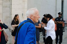 Bill Cunningham doing what he does best at NYFW
