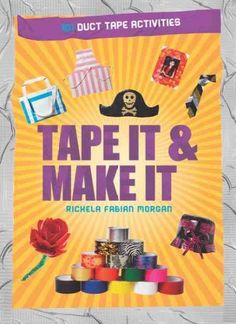 Offers dozens of creative ideas and easy-to-follow instructions for making everything from wallets and coin purses to novelty neckties and household decorations out of duct tape.