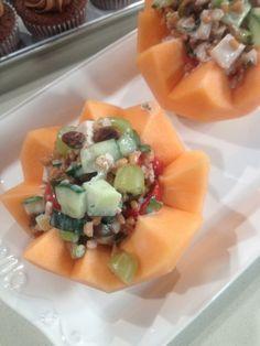 Red Quinoa Chicken Salad - Chef Brad