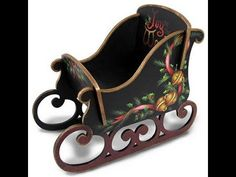 Sleigh Bells Ring - Christmas - Project Categories – Tole and Decorative Painting Online Store