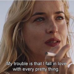 A Bigger Splash (2015) That known thought - that you rather love in words than actions. Or all the pretty things.