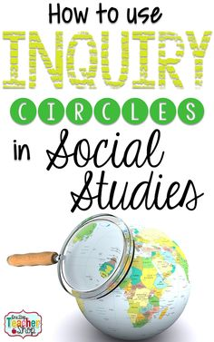 Need some social studies project ideas? Learn how to make Social Studies more engaging for your students with inquiry circles. Inquiry circles reinforce social studies standards while teaching the research process. (Grab the free social studies project 7th Grade Social Studies, Social Studies Projects, Social Studies Classroom, Social Studies Activities, History Classroom, Teaching Social Studies, History Teachers, Teaching History, History Education