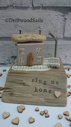 Check out this item in my Etsy shop https://www.etsy.com/uk/listing/488878232/handmade-salvaged-wood-house-sculpture