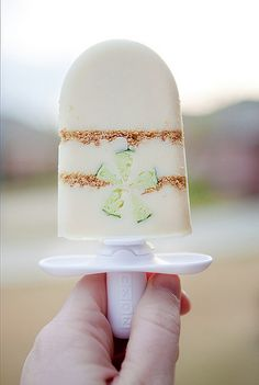 key lime pie popsicle