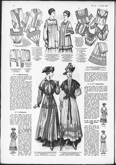 corset-cover style brassieres from 1916