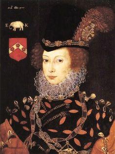 Elizabeth Knollys, Lady Layton,1577