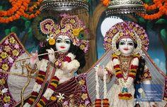 Their Lordships Sri Sri Radha Vrindavanchandra