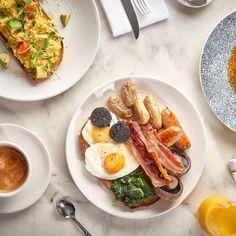 5 idei pentru un brunch delicios si sanatos - Brunch-ul este acea masa care nu este nici mic dejun si nici pranz, el poate fi o combinatie intre cele doua sau niciuna dintre ele Brunch, French Toast, Good Food, Breakfast, Morning Coffee, Healthy Food, Yummy Food