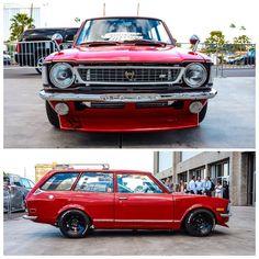 Jose Lalamas's Toyota Corolla Corolla Wagon, Corolla Car, Toyota Corolla, Toyota Celica, Retro Cars, Vintage Cars, Cars For Sale Uk, Datsun Roadster, Sema 2015