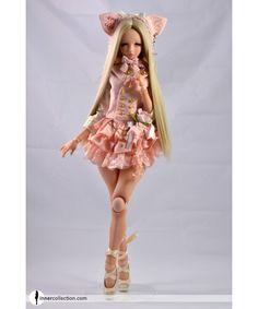 Acheter robe Code Noir Pink Donuts Angel Philia Pink Drops