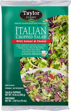 Taylor Farms Retail   Italian Chopped Salad