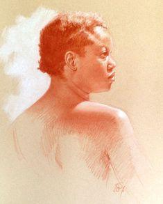 Dibujo de retratista Brian Smith