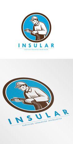Insular Insulation Company Logo by patrimonio on Creative Market