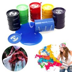 Barrel O Slime Goo Silly Putty Gag Prank Trick Kids Toys Prank Joke Novelty Random Color Halloween Gift #Affiliate