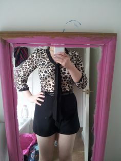What do you think of my new play suit thing. (yes those are my horrid thighs)