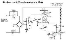 Armando Luz Estrober Con Led a 220V - Taringa!