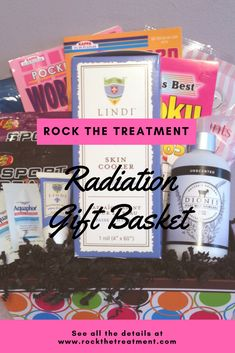 Radiation Basket. Chemo Care PackageCancer Care PackageGifts For Cancer PatientsRadiation ...