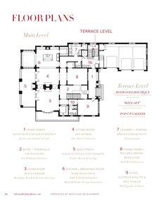 400 best large house plans images on pinterest house for Atlanta house plans