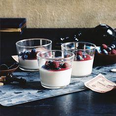 maple pots de crème with almond praline recipe see more maple pots de ...