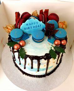 Purppurahelmi: Herkkua kaffepöytään Happy Birthday, Birthday Cake, Kermit, Macarons, Desserts, Food, Happy Brithday, Tailgate Desserts, Deserts