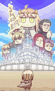 Gif memes by Awkward_mess: 3 comments - iFunny :) Anime Chibi, Kawaii Anime, Manga Anime, Arturia Pendragon, Fate Stay Night Anime, Fate Servants, Fate Anime Series, Estilo Anime, Fate Zero
