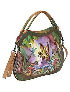 c2981adafc Large Convertible   Expandable Shopper - Enchanted by Anuschka Painted Bags