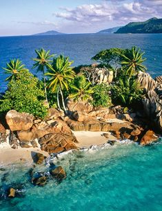 Was just talking about the need for a private island ! Seychelles, My deserted Island Les Seychelles, Seychelles Islands, Fiji Islands, Cook Islands, Seychelles Honeymoon, Seychelles Africa, Beautiful Islands, Beautiful Beaches, Beautiful World