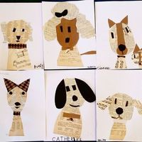 This is probably one of my favorite projects ever! Today was Artsy Animals day…