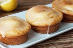 Our Skinny Lemon Muffins are super slimmed-down, but still full of flavor. They're a cinch to whip up, and the lemon glaze makes them to-die-for!