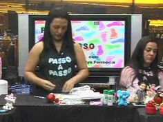 Passo a Passo  Papai Noel com Evelyn Fonseca