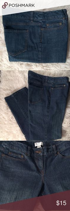 Flash Sale 🔥LOFT Straight Leg LOFT Straight Leg. Nice pair of jeans in excellent condition no stains, rips or tears. Waist: 30in. Flat Measurements= Rise: 9.5in, Inseam: 31in, Outseam: 39in. Color: Dark Blue Wash. LOFT Jeans Straight Leg