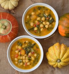Garbanzos con acelgas y calabaza - Healthy Eating İdeas For Exercise Veggie Recipes, Mexican Food Recipes, Real Food Recipes, Soup Recipes, Vegetarian Recipes, Cooking Recipes, Healthy Recipes, Recipe Stews, Food And Drink