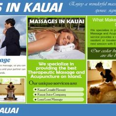 Kauai Couples Massage can be a very enlightening experience, especially if you can convince a newcomer to try it.  While there is a risk that he or s