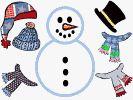 snowman dress up craft